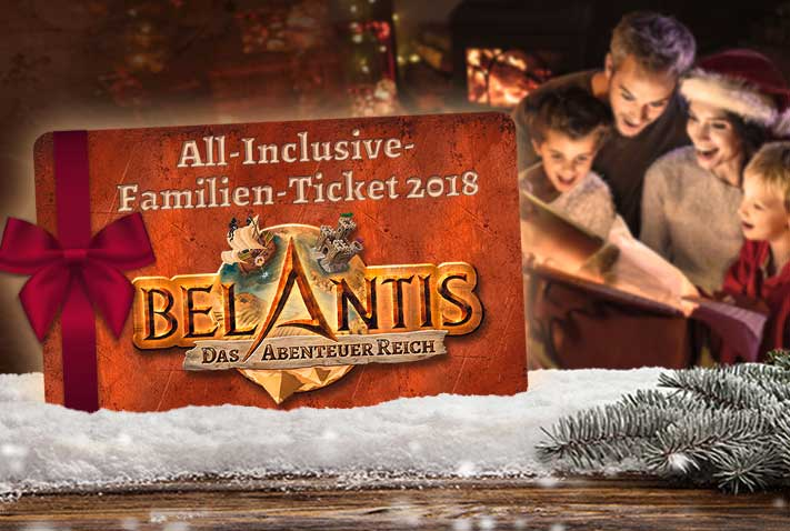 Das All Inclusive Ticket von BELANTIS