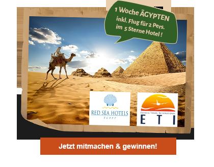 Hauptgewinn - eine Reise nach Ägypten